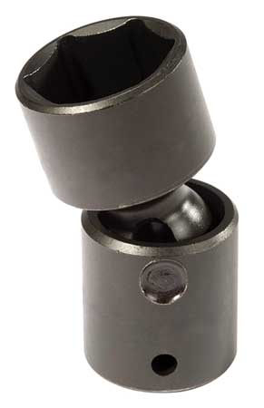 Flex Impact Socket, 1/2 In Dr, 9/16 In, 6pt