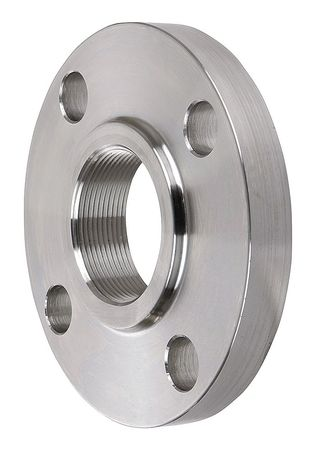 "1/2"" FNPT SS Threaded Flange"