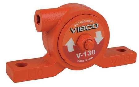 Pneumatic Vibrator, 80 lb, 19, 000vpm, 60psi