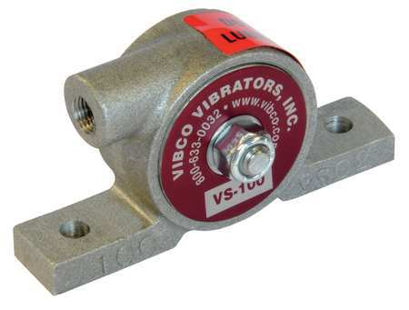 Pneumatic Vibrator, 20 lb, 12, 000vpm, 60psi