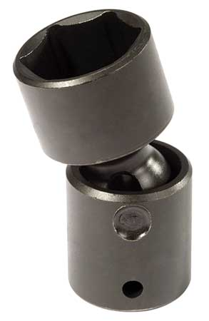 Flex Impact Socket, 1/2 In Dr, 7/16 In, 6pt