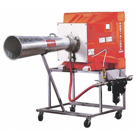 2200 cfm Portable Evaporative Cooler,  PneumaticV