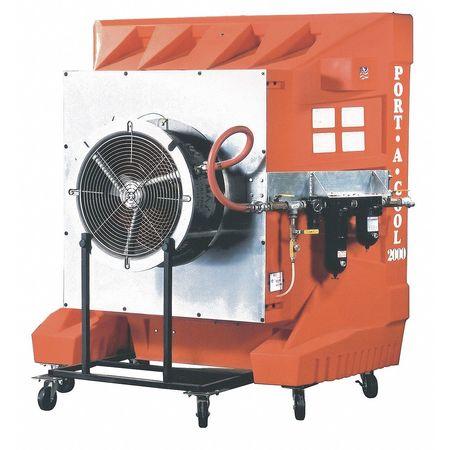 9100 cfm Portable Evaporative Cooler,  PneumaticV