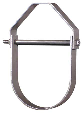 Clevis Hanger, Adjustable, Pipe Sz 1/2 In
