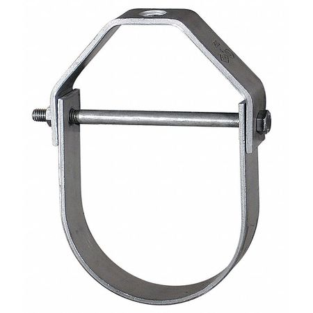 Clevis Hanger, Adjustable, Pipe Sz 2 In