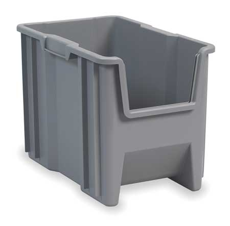 Stacking Bin, 17-1/2 In. L, 10-7/8 In. W
