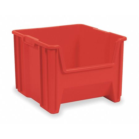 Stacking Bin, 17-1/2 In. L, 16-1/2 In. W