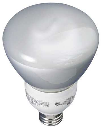 GE LIGHTING 15W,  R30 Screw-In Fluorescent Light Bulb