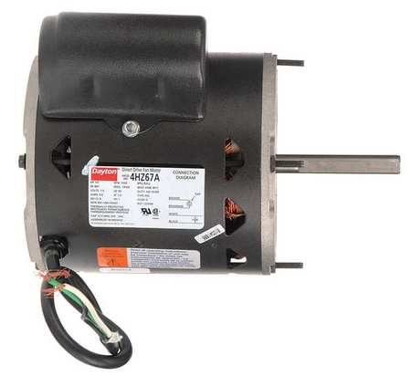 Dayton motor psc 1 3 hp 1650 rpm 115v 48y oao 4hz67 for 1 3 hp psc motor