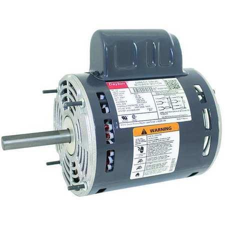 Motor, PSC, 1/2 HP, 1100, 115/230V, 48Y, OAO