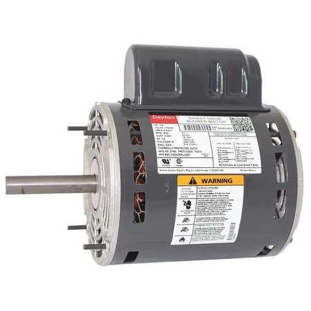 Motor, PSC, 1/2 HP, 1650, 115/230V, 48Y, OAO