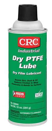 Dry PTFE Lubricant, Aerosol Can, 16 oz.