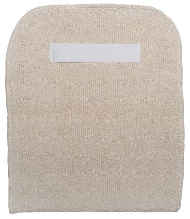 Bakers Pad, White, Terry Cloth