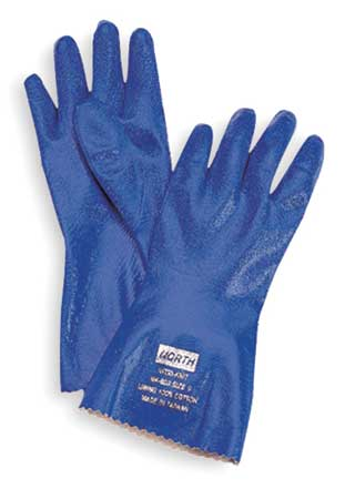 Chemical Resistant Glove, 12 In, Sz 9, PR