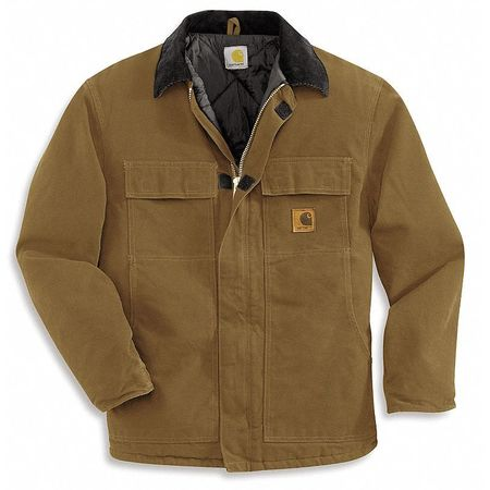 Coat, Insulated, Brown, M