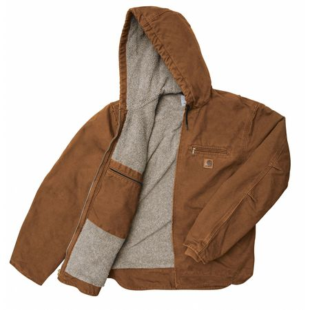 Jacket, Insulated, Brown, 2XL
