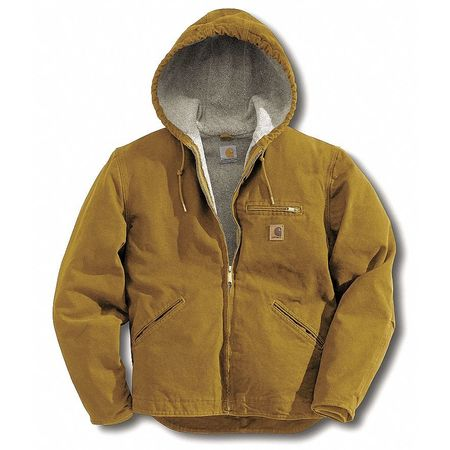 Jacket, Insulated, Brown, 2XLT