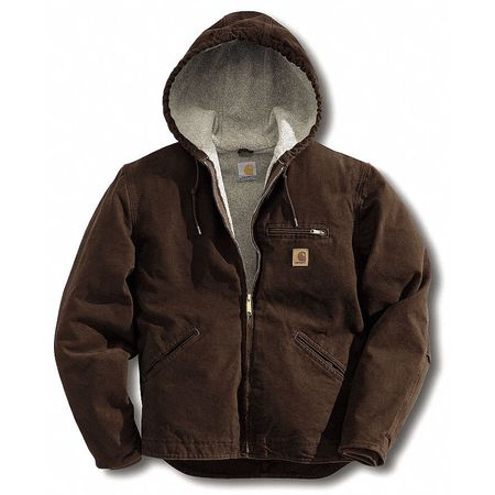 Jacket, Insulated, Brown, XLT