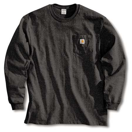 Long Sleeve T-Shirt, Black, 2XL