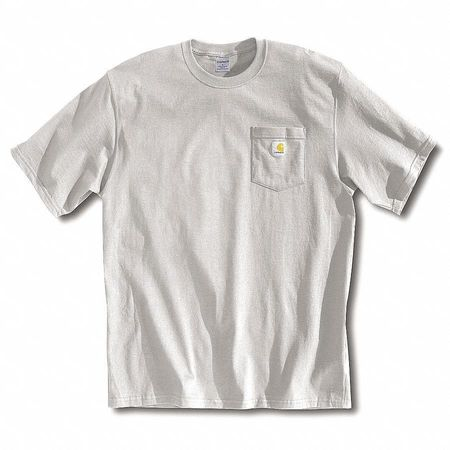 T-Shirt, Gray, 2XL