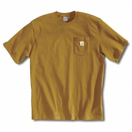 T-Shirt, Brown, 3XL