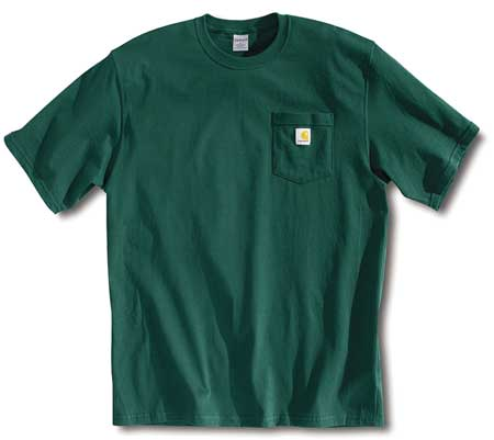 T-Shirt, Hunter Green, XL