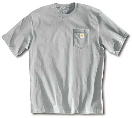 T-Shirt, Heather Gray, 3XL