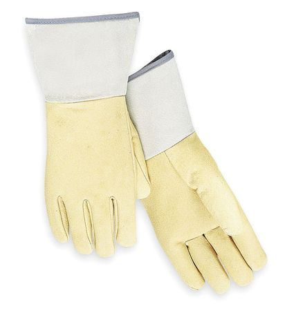 Welding Gloves, TIG Welding, 12In., L, PR