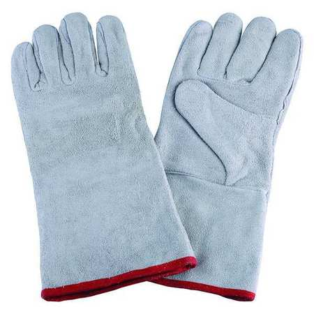 Welding Gloves, Stick, 14In. L, PR