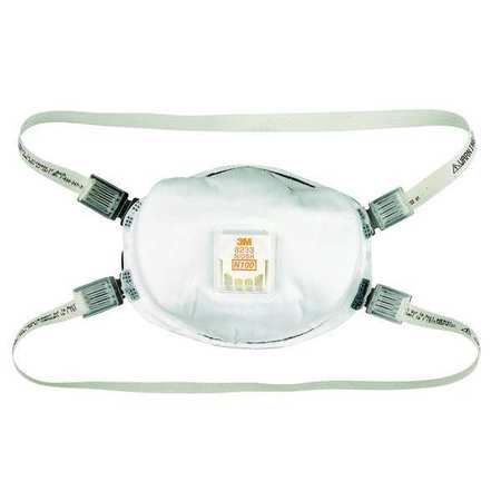 Disposable Respirator, N95, Universal, PK10