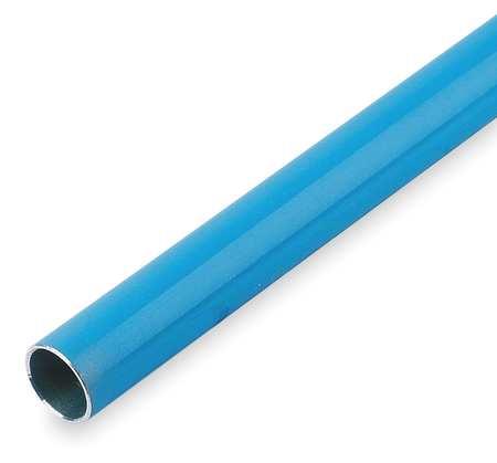 Tubing, Aluminum, 7/8 In ID, 9 Ft L