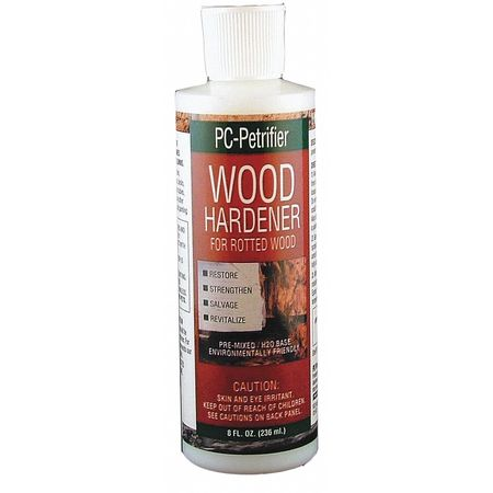 Wood Hardener, 8fl oz., Milky White, Bottle