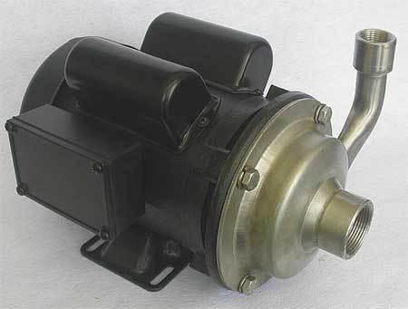 Pump,  3/4 HP,  115/230V,  9.0/4.5 Amp