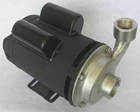 Pump,  2 HP,  115/230V,  21.6/10.8 Amp