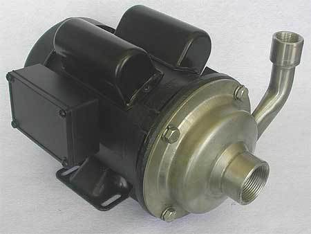 Pump,  1/2 HP,  115/230V,  7.5/3.8 Amp
