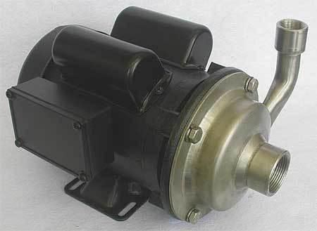 Pump,  1 HP,  115/230V,  13.0/6.5 Amp
