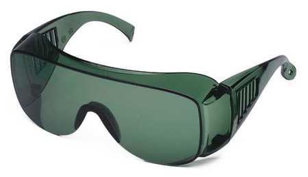 Condor Green Safety Glasses,  Scratch-Resistant,  OTG