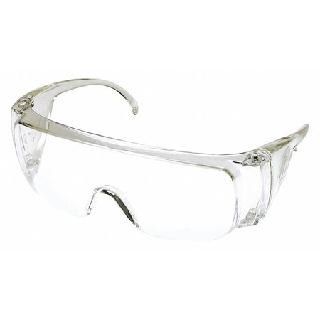 Condor Clear Safety Glasses,  OTG