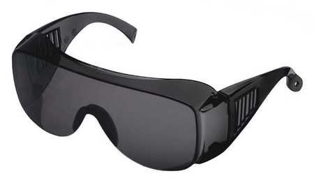 Condor Gray Safety Glasses,  Scratch-Resistant,  OTG
