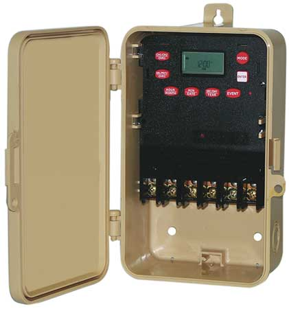 Electronic Timer, Astro 7 Days, SPST