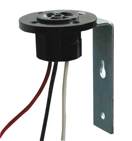 Photoelectric Control Recep, w/Bracket