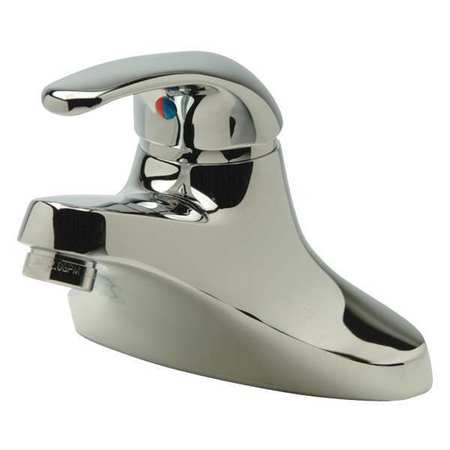 Bathroom Faucet Standard Spout,  Chrome,  2 Holes,  Lever Handle