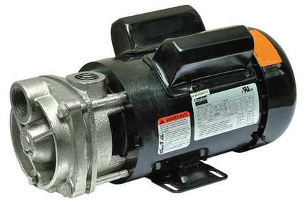 Turbine Pump, 1 1/2 HP, 1 Ph,  13.5/6.7 Amp