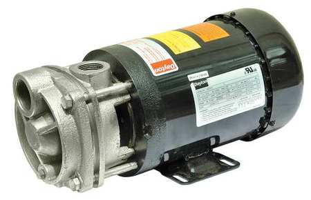 Turbine Pump, 1 1/2 HP,  3 Ph,  4.6/2.3 Amp