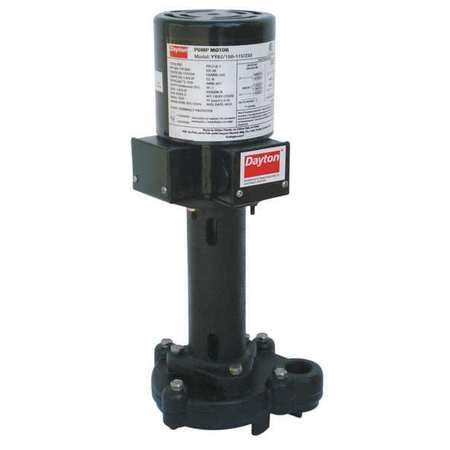Pump, Coolant, 1/8HP, 115/230V, 2.15/1.08Amp