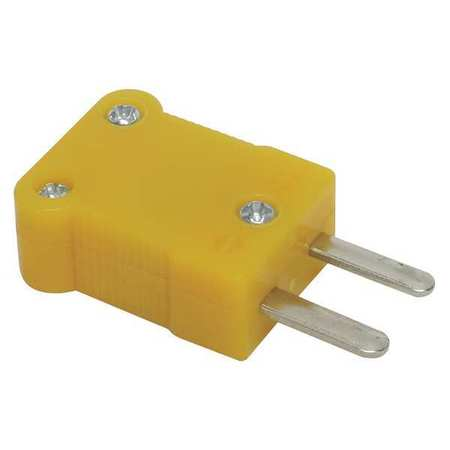 Type K Thermocouple Plug, Mini, PK2