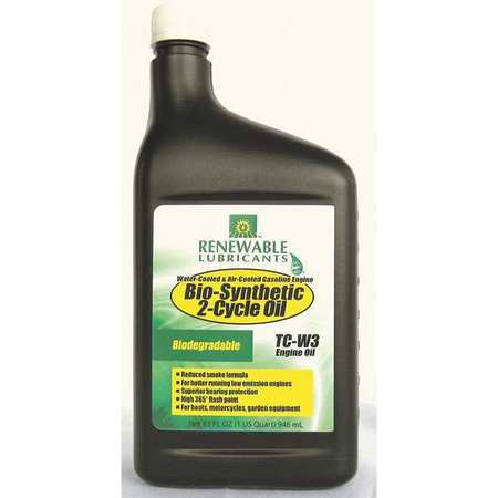 Engine Oil,  2 Cycle,  1 Qt.,  SAE 20