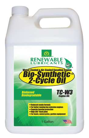 Engine Oil, 2 Cycle, 1 Gal., SAE 20