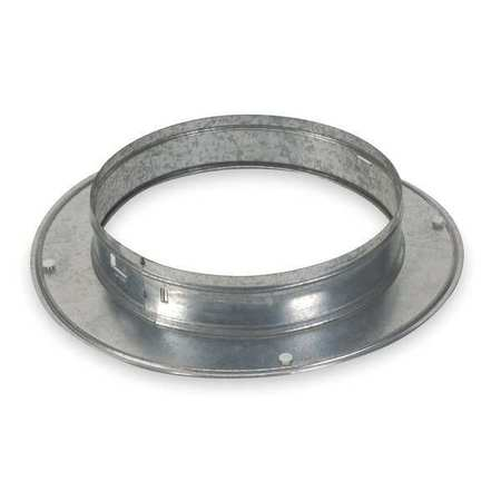 Snap On Collar, Round, Galvanized Steel