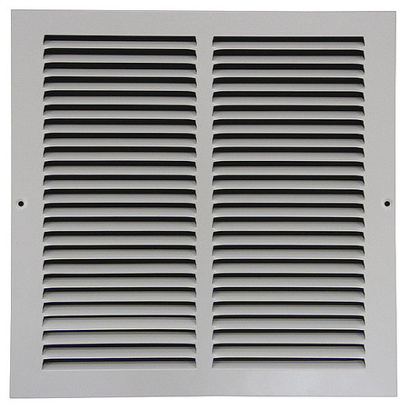 "Return Air Grille, 10x14"", White"